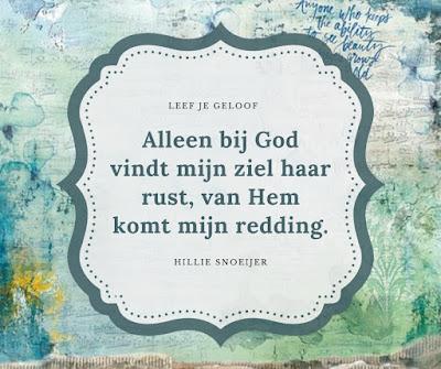 Rust vinden bij God