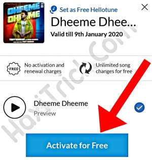 Active Free Hello Tune In Airtel Sim Card Steps In Hindi