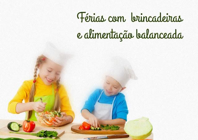 alimentação balanceada para crianças