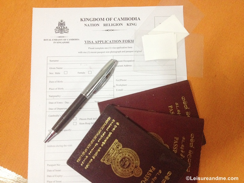 How to Get Cambodia Visa in Singapore