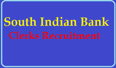 /2019/06/south-indian-bank-ltd-probationary-clerks-recruitment-notification-results-admit-cards-Apply-Online-southindianbank.com.html South Indian Bank Clerks Recruitment 2019, Apply Online southindianbank.com