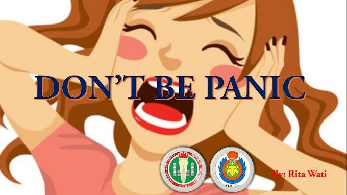 Don't Be Panic