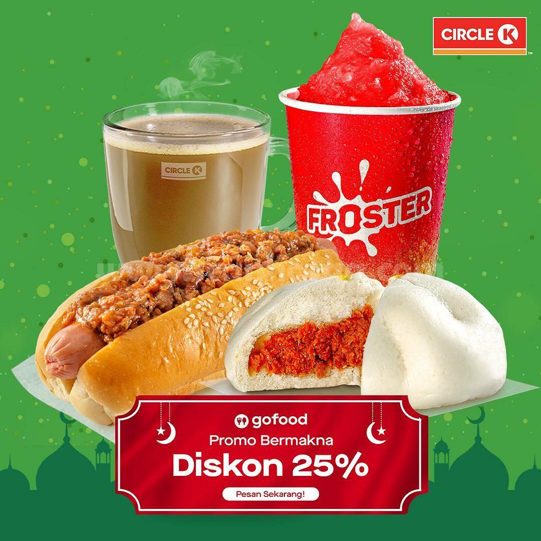 CIRCLE K Promo Diskon 25% Spesial via GoFood
