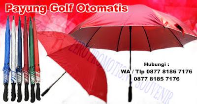 Payung Golf Otomatis, Payung Golf Otomatis Promosi di Tangerang, payung golf grosir, payung golf exklusive