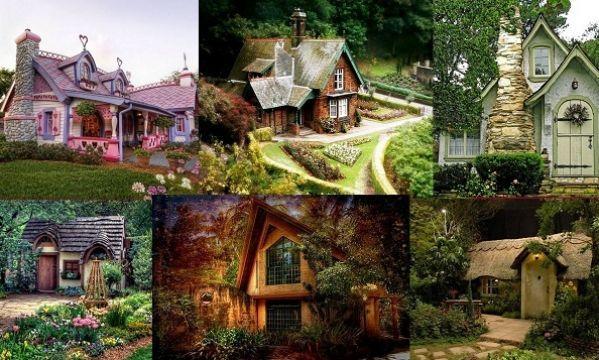 Μικρά παραμυθένια σπίτια μέσα στο δάσος που ξετρελαίνουν