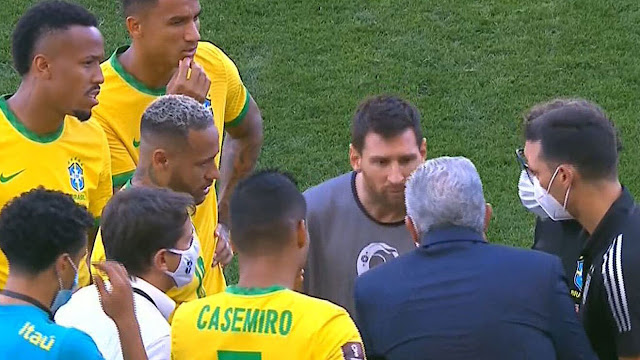 Neymar, Messi and Brazil players seeking explanations from health officials