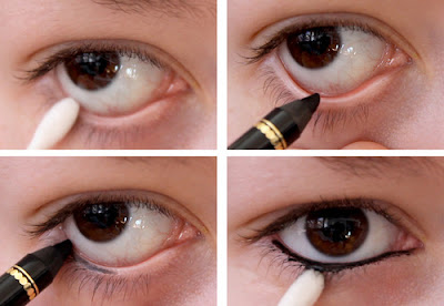 Focusing on your waterline and eyelashes