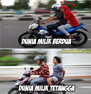Kata Lucu Gokil Anak Racing