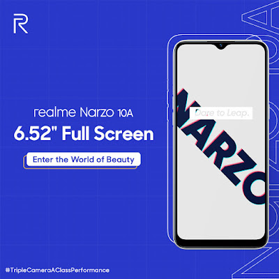 realme narzo 10a price in india