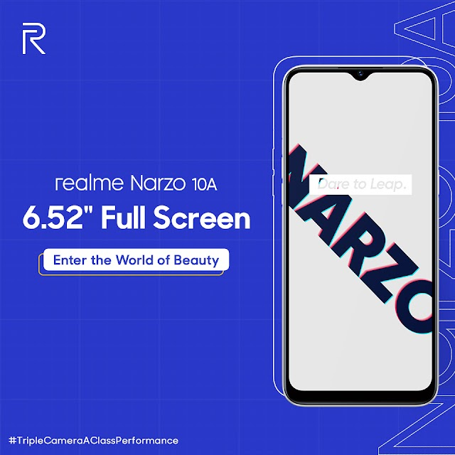 Realme Narzo 10A will go on sale on 22nd of May on Flipkart