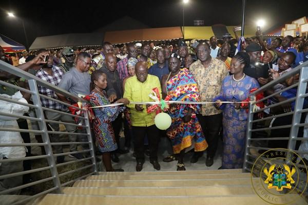 President Akufo-Addo Commissions Business Resource Centre At Kadjebi
