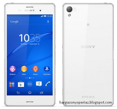 Kelebihan dan kekurangan Sony Xperia Z3 D6603 Terbaru