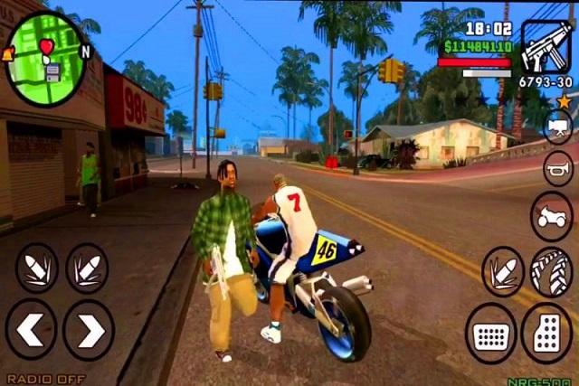 GTA San Andreas للجوال APK+OBB: رابط التحميل