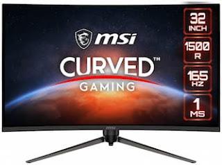 MSI تكشف عن الشاشة المنحنية Optix AG321CR لأنظمة الألعاب