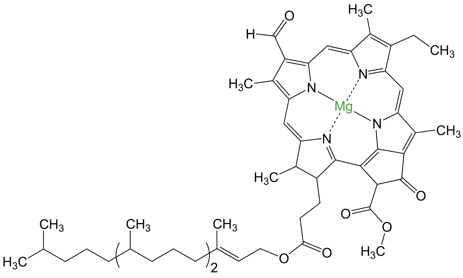 atoms molecule of chlorophyll pictures to pin on pinterest