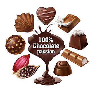 Coklat ilustrasi