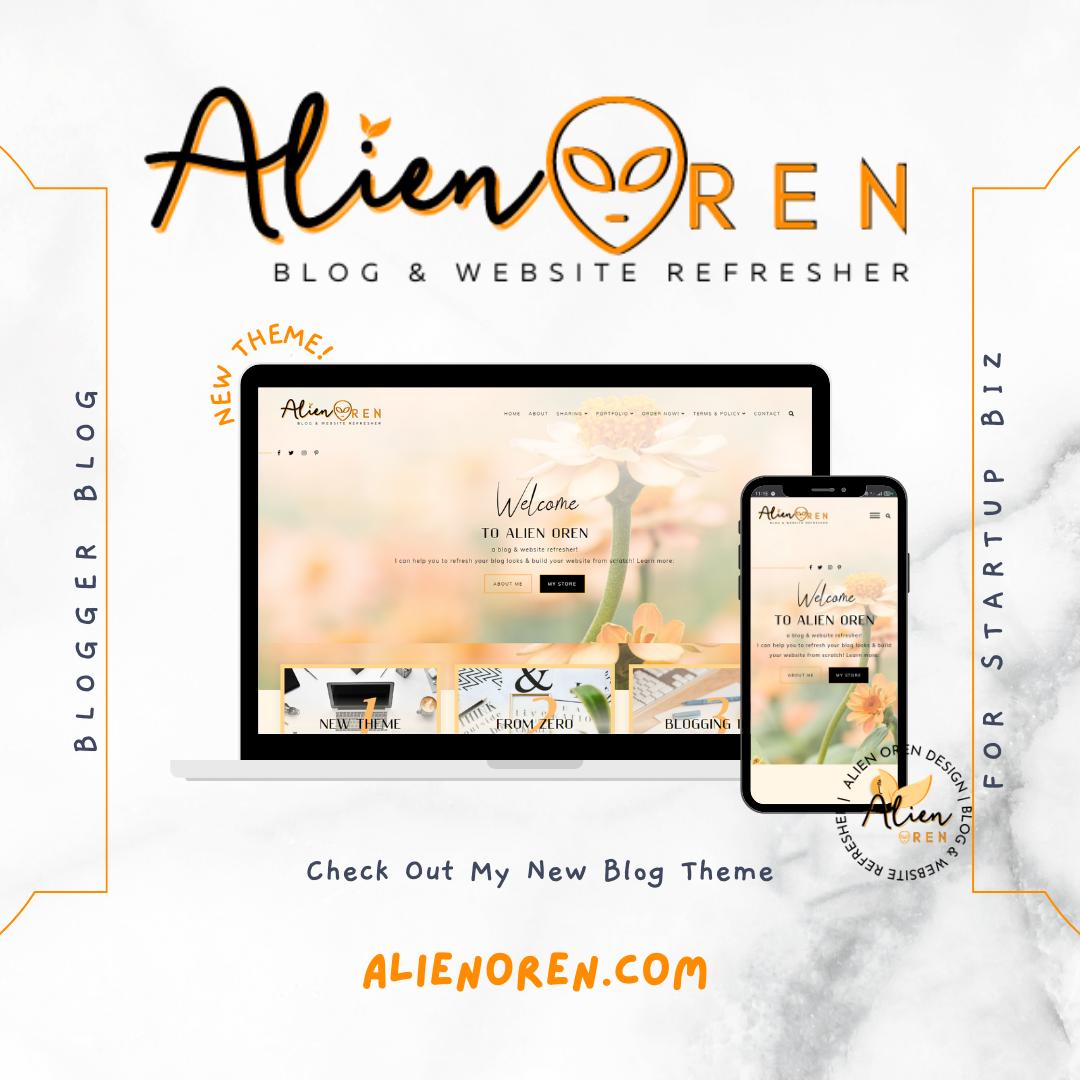 Wajah Baru blog Alien Oren