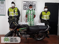 Departamento de Policía Atlántico intensifica acciones contra el hurto de motocicletas