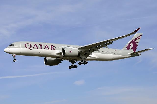 Airbus A350-900 of Qatar Airways