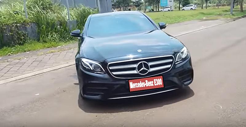 variant car rental mobil mewah all new mercedes benz e300 Jakarta