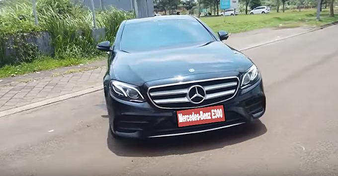 All New Mercedes Benz E300 Super Deluxe Bisa Disewa di Boavista Rent Car Jakarta
