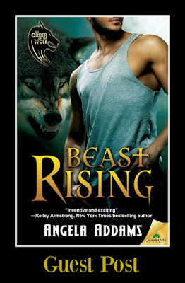 Bea's Book Nook, Angela Addams, Beast Rising, UF, Romance