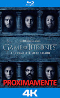 Game of thrones temporada 6 4k