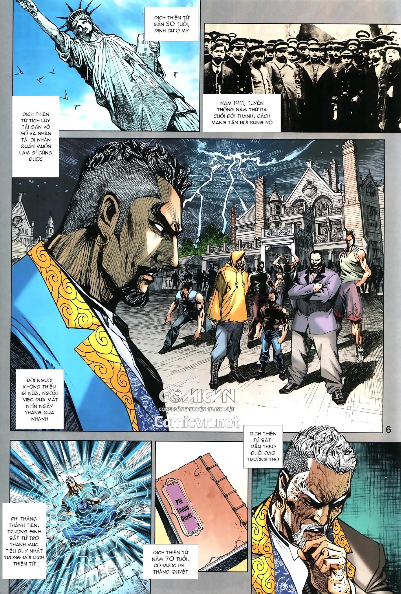 Tân Tác Long Hổ Môn chap 879.1 - Trang 6