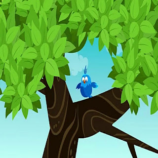 Hindi kid's story panchatantra ki kahaniya : अमीर आदमी और समझदार चिड़िया।