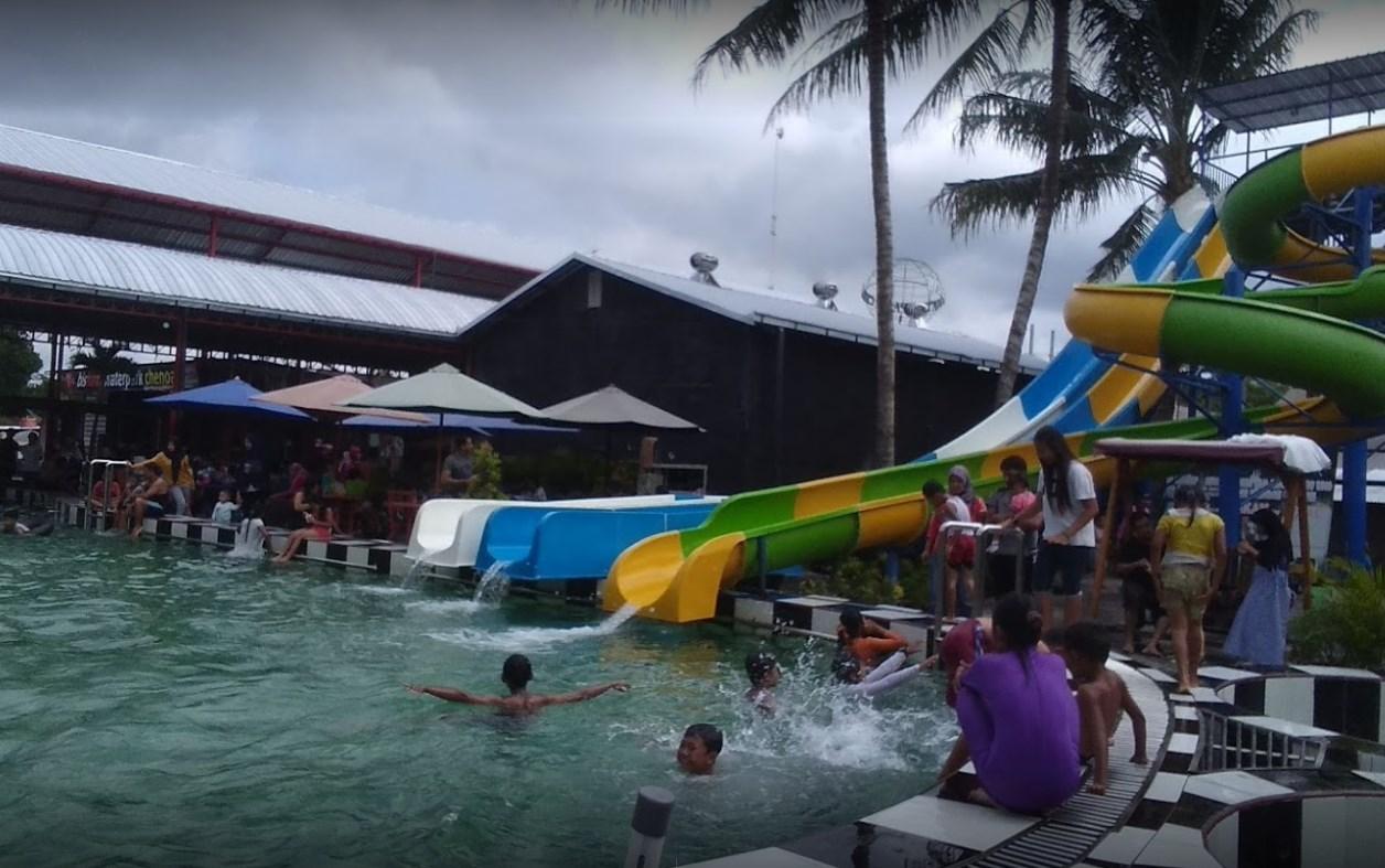 Harga Ticket Masuk Bisham Waterpark Chenoa Blitar Wisata
