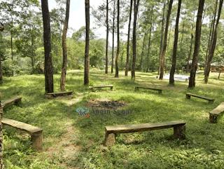 lokasi camping dan trekking di sentul bogor