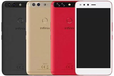 Spesifikasi Infinix Zero 5   Infinix Zero 5 telah dilengkapi dengan fitur VoLTE, sensor sidik jari atau fingerprint, dan memakai OS Android 7.0 Nougat dengan tampilan XOS 3.0. Smartphone ini menggunakan baterai berkapasitas 4350 mah dan mendukung pengisian cepat atau fast charging.   Infinix mengunggulkan fitur kamera di Zero 5 ini dengan mengusung dual camera pada kamera belakang. Dual kamera belakang Infinix Zero 5 ini sudah dapat merekam video dengan resolusi 2160p@30fps dengan kemampuan 2x Optical Zoom yang membuat Infinix Zero 5 mampu merekam video dengan kaulitas terbaik meskipun dari jarak jauh. Tidak hanya menawarkan daya tarik di kamera belakang saja, Infinix Zero 5 juga menawarkan daya tarik dibagian kamera selfie, karena Infinix Zero 5 sudah memiliki kamera depan beresolusi 16 MP lengkap dengan fitur lampu LED Flash yang dapat menjanjikan hasil foto selfie tetap terlihat jernih meski malam hari.         Untuk bagian layar, Infinix Zero 5 hadir dengan mengusung layar lebar 5.98 inci dengan resolusi 1080 x 1920 pixels yang pastinya sangat cocok dan optimal saat digunakan untuk main game / menonton video, apalagi Infinx Zero 5 sudah menggunakan teknologi layar AMOLED yang terkenal memiliki akurasi warna jernih dan lembut dimata.      Kelebihan Infinix Zero 5