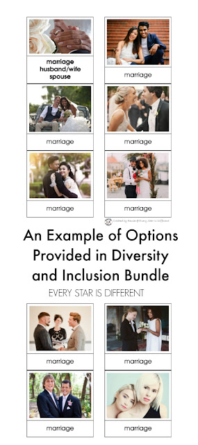 An Example of Options Provided in Diversity and Inclusion Bundle