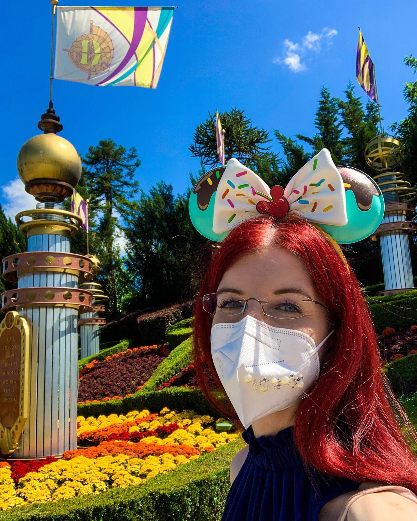 Disneyland Paris Selfie Autopia