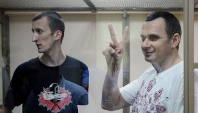 Russian court convicted Ukrainian citizens Sentsov and Kolchenko