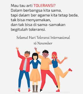selamat hari toleransi internasional