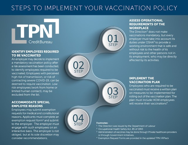 For or against vaccination: Policy documents required