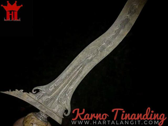 gambar keris karno tanding/karno tinanding