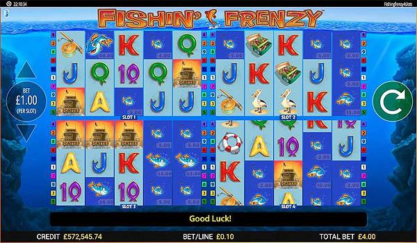 Main Slot Gratis Indonesia - Fishin' Frenzy Power 4 Slots (Blueprint Gaming)