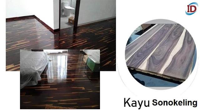 Jenis kayu terbaik untuk lantai 6 Sonokeling