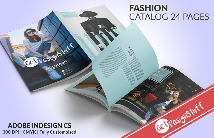 Download Professional Fashion Catalog 24 Pages