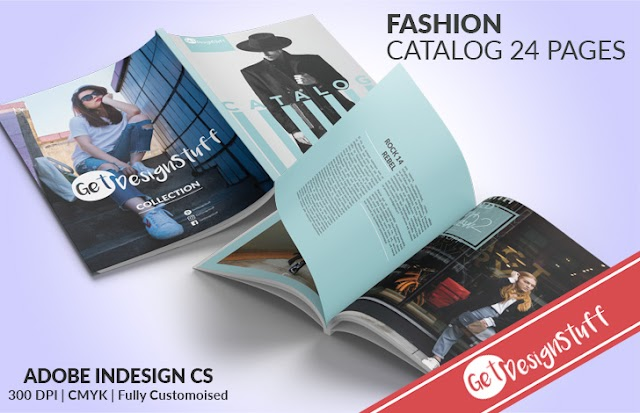 Professional Fashion Catalog 24 Pages