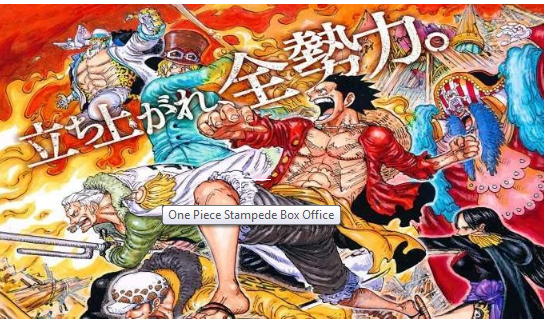 Here's How The New One Piece Movie Is progress At The Box Office