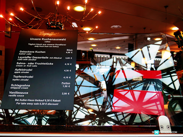 bowdywanders.com Singapore Travel Blog Philippines Photo :: Germany :: Leysieffer Café: Another Airport Cafe Good Find In Europe