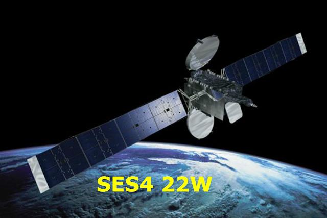 Satélite SES4 22W KU Nova TP de Apontamento