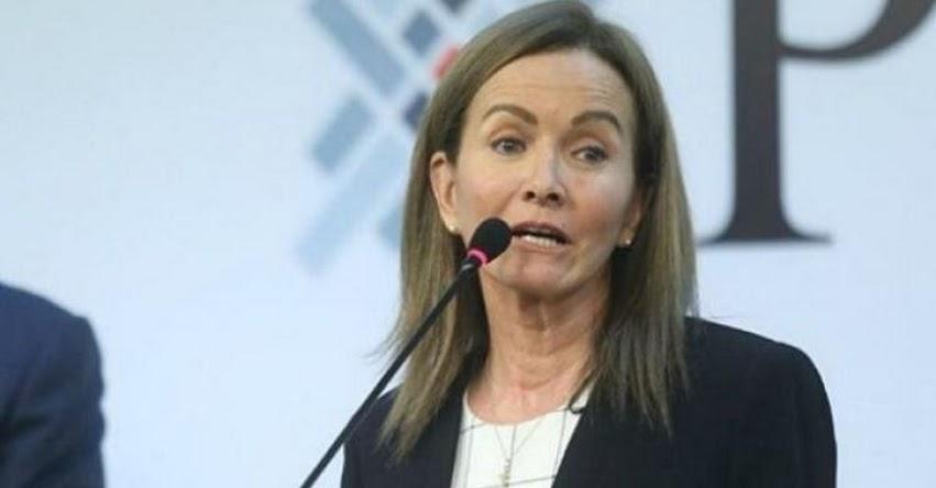MARILÚ MARTENS: Ministra de Educación habría presentado carta de renuncia al MINEDU