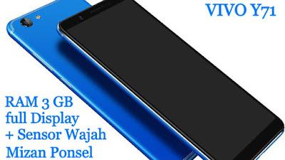 Spesifikasi VIVO Y71 Terbaru 2018