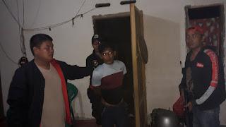 Polisi Berhasil Meringkus Pelaku Pengrusakan Rumah Milik Warga Sukamaju.