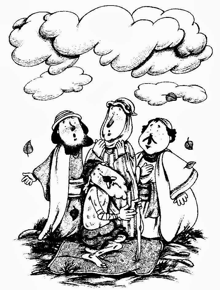 El Renuevo De Jehova: Historia de Job - Imagenes para colorear ...