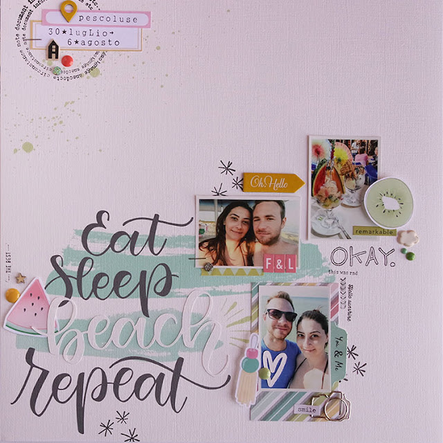 scrapbooking layout by kushi | www.kkushi.com
